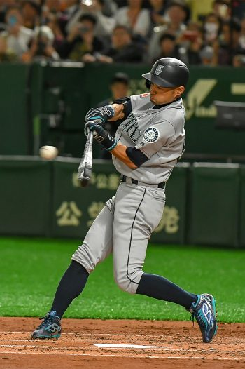 MLB Seattle Mariners Ichiro Suzuki's Last Game