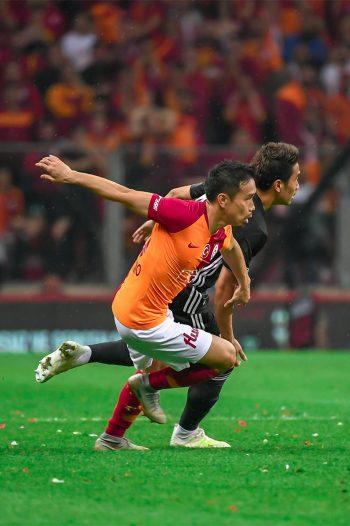 Basaksehir FK Shinji Kagawa Galatasaray SK Yuto Nagatomo