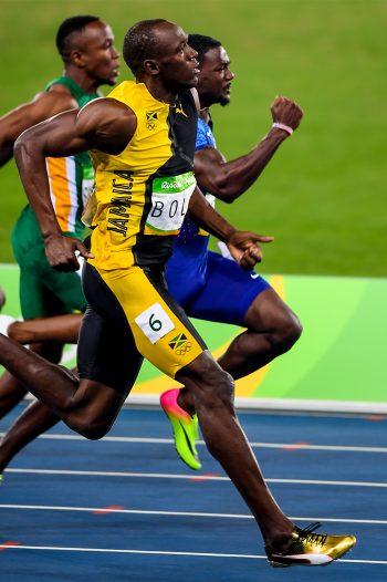 2016 Rio Olympic 100 meter final