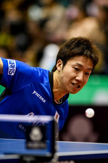 Table Tennis Japan Open 2017 Jun Mizutani